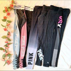6 pairs xsmall/small leggings